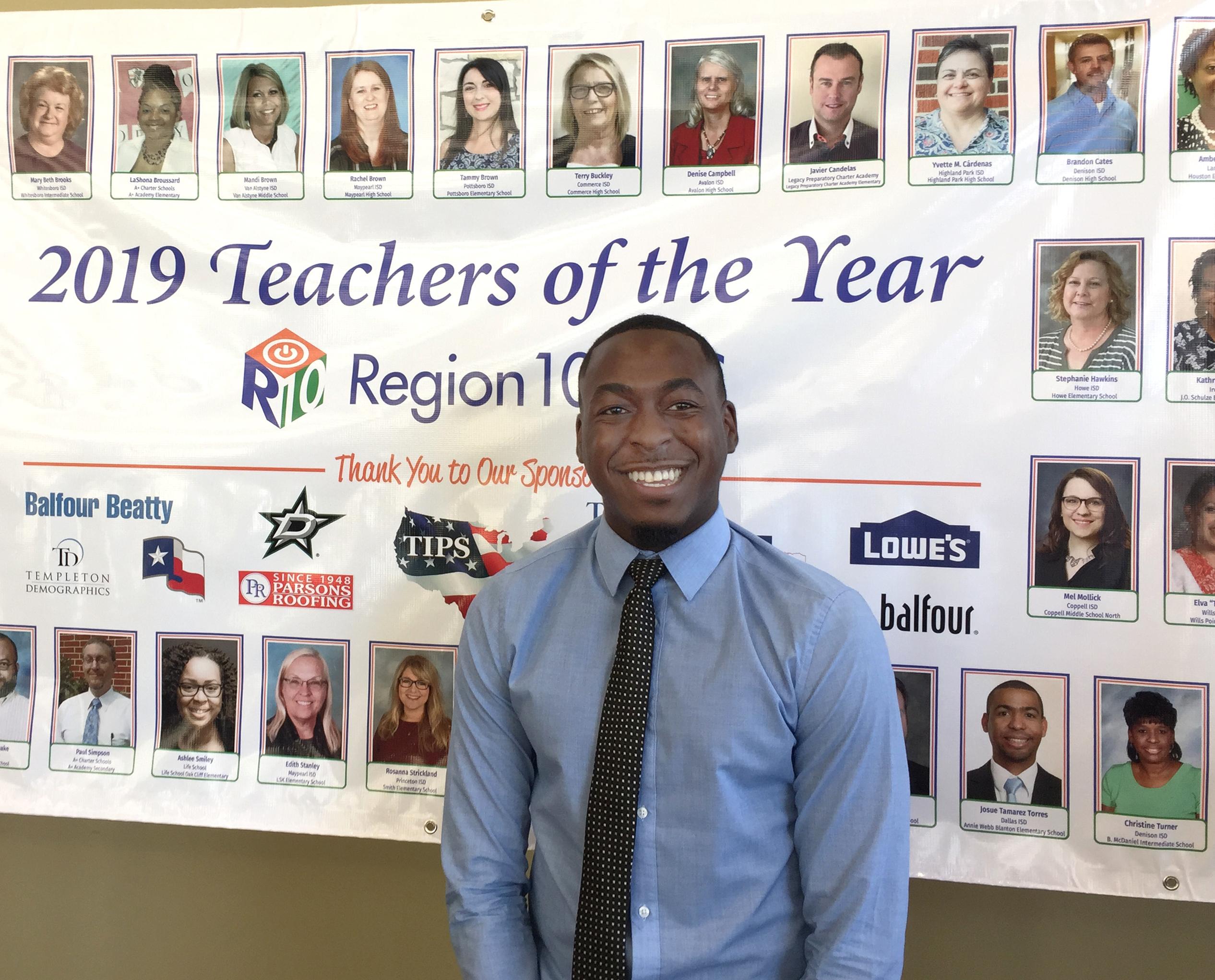Aug  2, 2018 - Region 10 Names Mitchell Teacher as a Top Three 2019