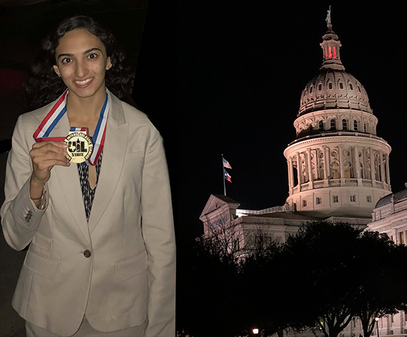 Mishan Kara, Plano West UIL 6A State Champ Congressional Debate