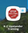 k-2 Upstander training